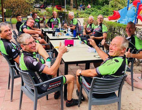 B-groep is op de koffie geweest in Vlierden